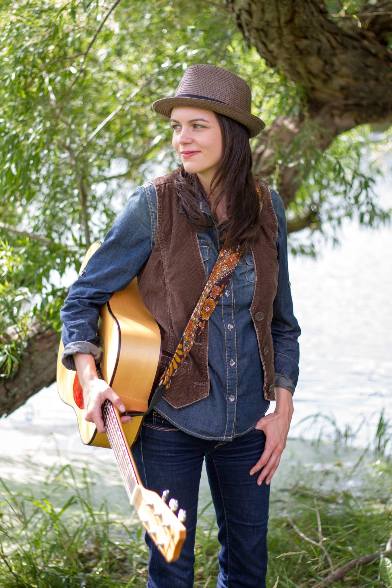 amy goloby willow tree vest and hat