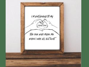 petty stuff lyric print