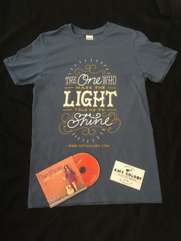 shirt cd sticker